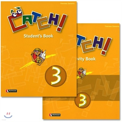 Catch! 3 : Student Book + Work Book(Activity Book)