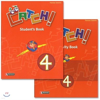 Catch! 4 : Student Book + Work Book(Activity Book)