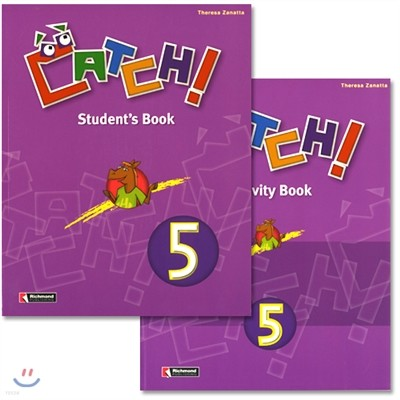 Catch! 5 : Student Book + Work Book(Activity Book)