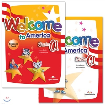 Welcome To America Starter A : Student Book + Work Book