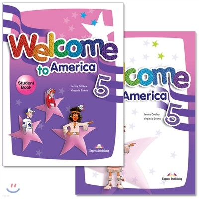 Welcome To America 5 : Student Book + Work Book