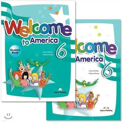 Welcome To America 6 : Student Book + Work Book