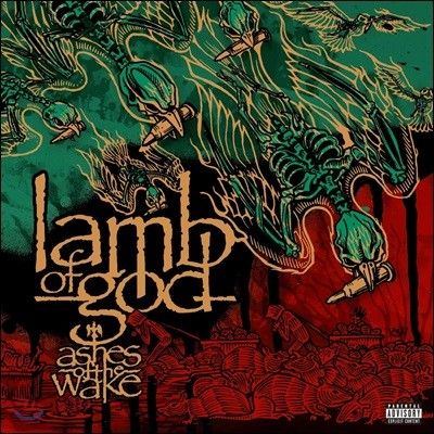 Lamb Of God (램 오브 갓) - Ashes Of The Wake (Explicit) [2LP]