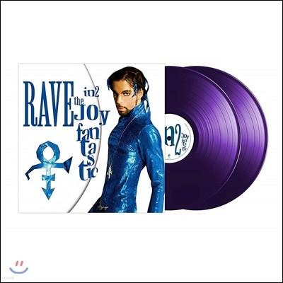Prince (프린스) - Rave In2 The Joy Fantastic [퍼플 컬러 2LP]