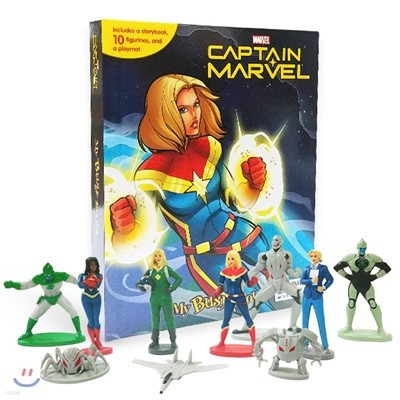 Captain Marvel My Busy Book 캡틴 마블 비지북