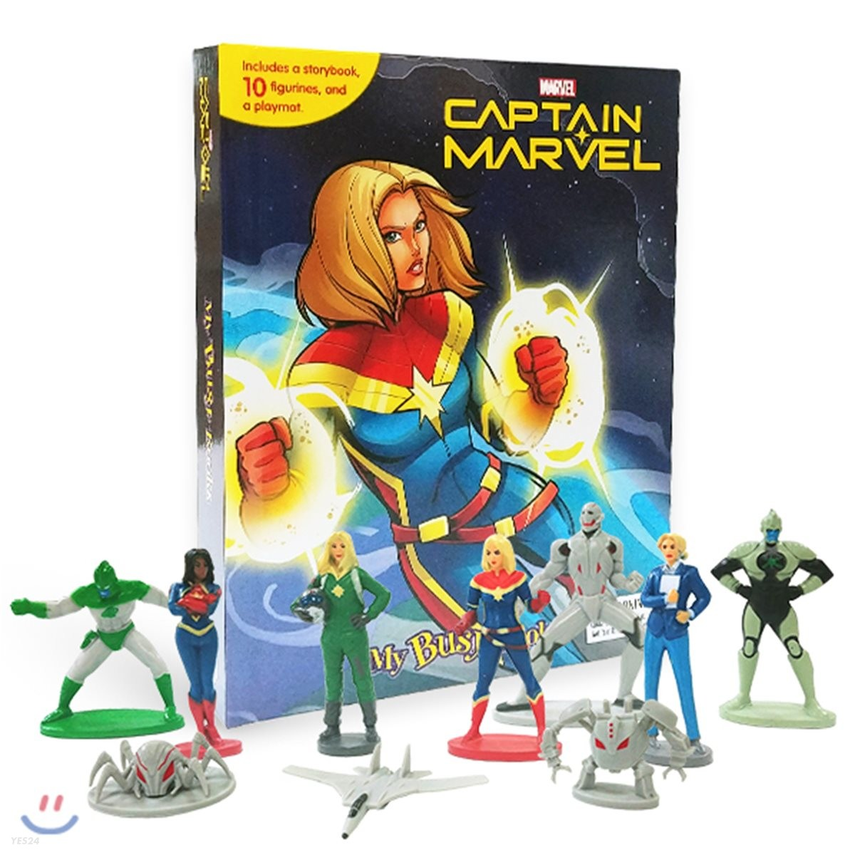 Captain Marvel My Busy Book 캡틴 마블 비지북