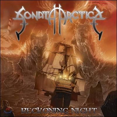 Sonata Arctica (소나타 악티카) - Reckoning Night [투명 오렌지 & 화이트 컬러 2LP]