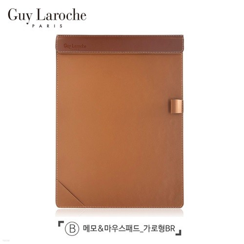 [Guy Laroche] 기라로쉬 메모&마우스패드(브라운)