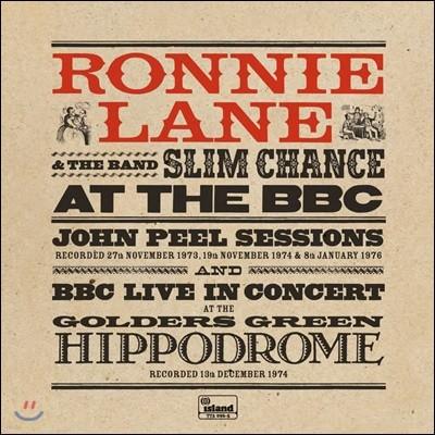 Ronnie Lane And Slim Chance (로니 레인 앤 슬림 챈스) - At The BBC [핑크 컬러 2LP]
