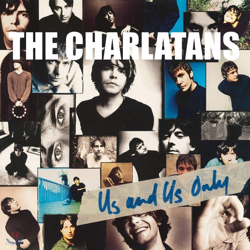 Charlatans (샬라탄스) - Us And Us Only [투명 컬러 LP]