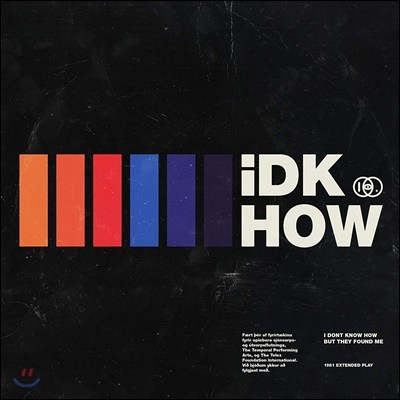 I Don't Know How But They Found Me - 1981 Extended Play 데뷔 앨범 [레드 컬러 LP]