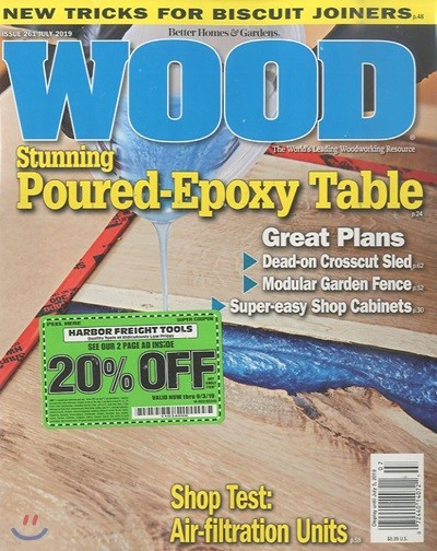 Wood(Better Homes and Gardens) (월간) : 2019년 07월