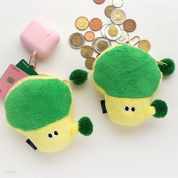 [50%할인]5000 브로컬리 동전지갑