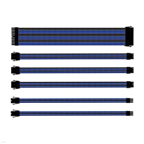 쿨러마스터 Sleeved Extension Cable Kit (0.3m, 블루)