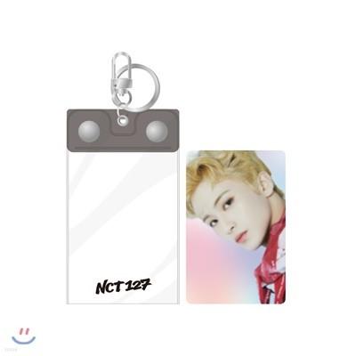 NCT 127 [SUPER HUMAN] - 포토키링+홀로그램카드SET [마크]