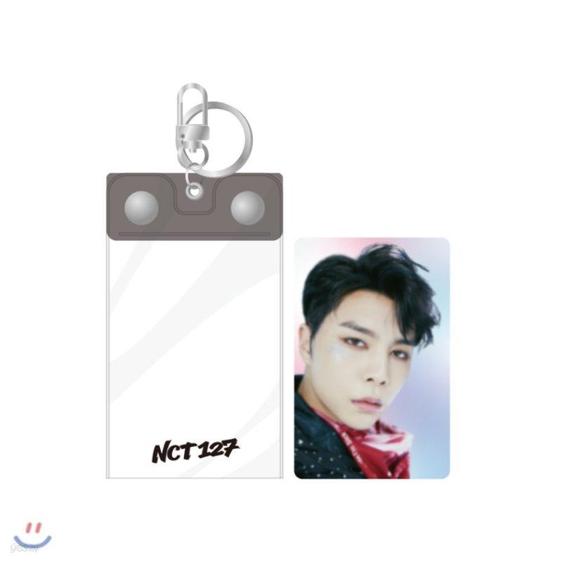 NCT 127 [SUPER HUMAN] - 포토키링+홀로그램카드SET [쟈니]