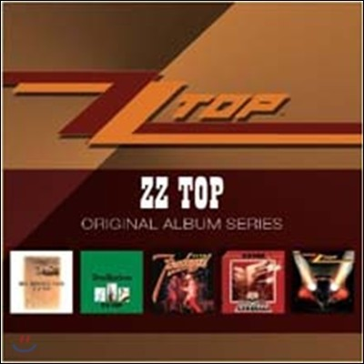 ZZ TOP - Original Album Series