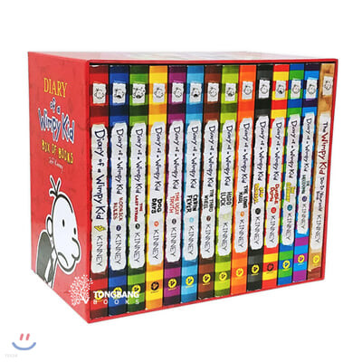 Diary of a Wimpy Kid Box Set : Book 1-13 & DIY Book (미국판)