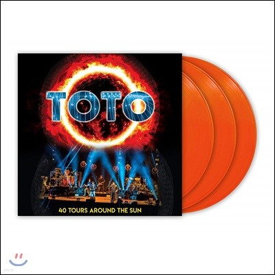 Toto (토토) - 40 Tours Around The Sun [오렌지 컬러 3LP]