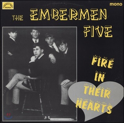 Embermen Five (엠버맨 파이브) - Fire In Their Hearts [LP]