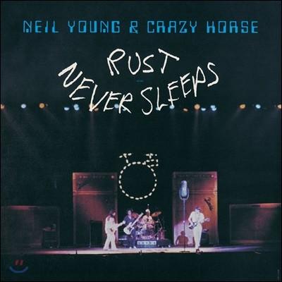 Neil Young & Crazy Horse (닐 영 앤 크레이지 호스) - Rust Never Sleeps [LP]