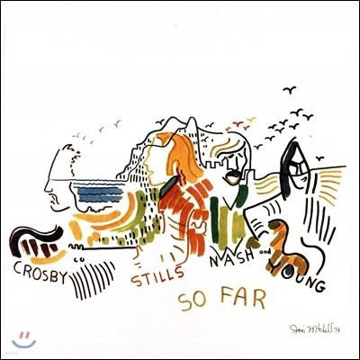 Crosby, Stills, Nash & Young (크로스, 스틸스, 내쉬 앤 영) - So Far [화이트 컬러 LP]