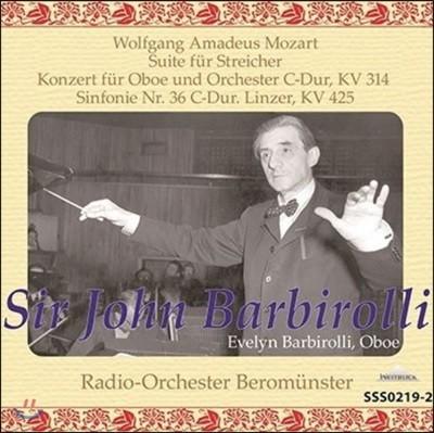 John Barbirolli 모차르트: 오보에를 위한 협주곡, 교향곡 36번 (Mozart: Concerto For Oboe, Symphony K425 Linzer)