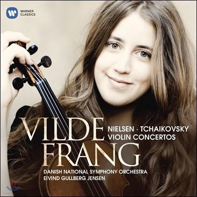 Vilde Frang 차이코프스키 / 닐센: 바이올린 협주곡 - 빌데 프랑 (Tchaikovsky: Violin Concerto Op.35 / Nielsen: Op.33)