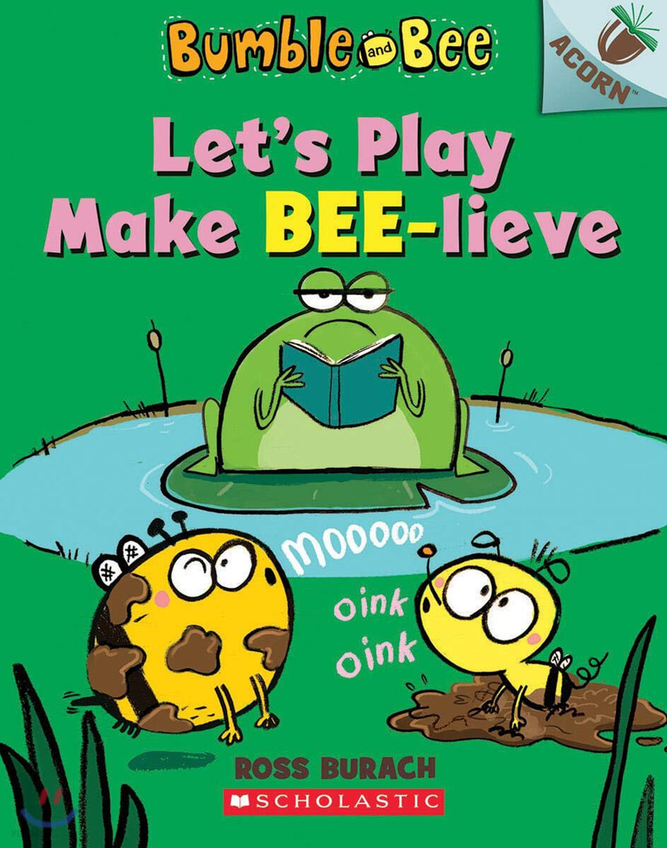 Bumble and Bee #2: Let's Play Make Bee-Lieve