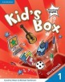 Kids Box American English Level 1 Workbook (Paperback/CD1)