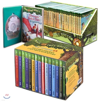 Magic Tree House 43종 Set : #1 ~ #43  (Book + CD)
