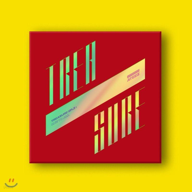 에이티즈 (ATEEZ) - 미니앨범 3집 : TREASURE EP.3 : One To All [ILLUSION ver.]