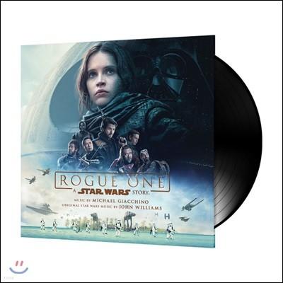 로그 원 - 스타워즈 스토리 영화음악 (Rogue One: A Star Wars Story OST by Michael Giacchino 마이클 지아치노) [2LP]