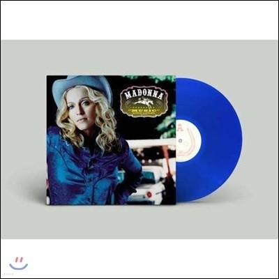 Madonna (마돈나) - Music [블루 컬러 LP]