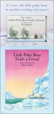 Little Polar Bear Finds a Friend Mini Book & Audi with Cassette(s)
