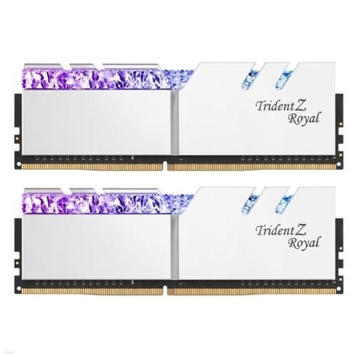 G.SKILL DDR4 32G PC4-32000 CL19 TRIDENT Z ROYAL 실버 (16Gx2)