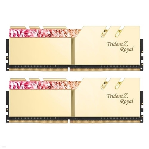G.SKILL DDR4 32G PC4-32000 CL19 TRIDENT Z ROYAL 골드 (16Gx2)