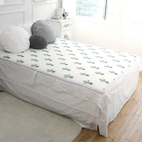 [헬스피아라이프] 3D메쉬 침대용 쿨매트 더블 200x150cm