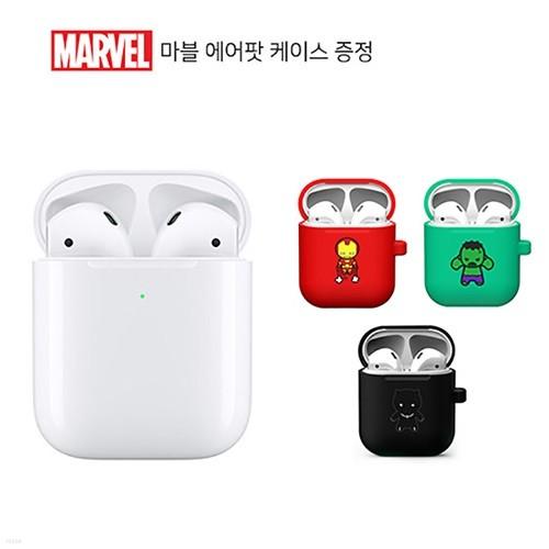[Apple] 애플 정품 AirPods 에어팟 2세대 무선충전 &마블케이스
