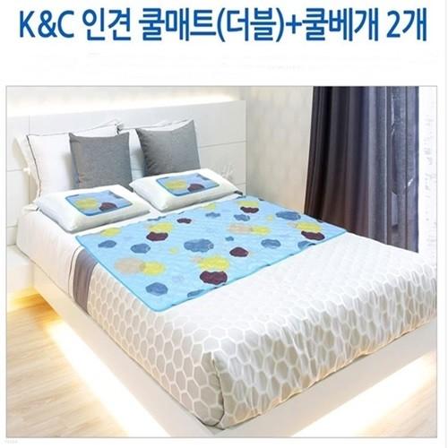 인견 쿨매트 컬렉션 - 더블 쿨매트 + 쿨베개 2개