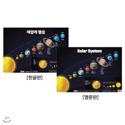 유아 벽보 영어 : 태양계 행성, Solar System