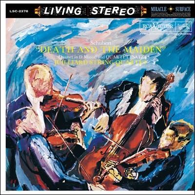 Juilliard String Quartet 슈베르트: 현악 4중주 12번, 14번 '죽음과 소녀' [LP]