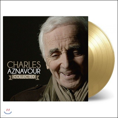 Charles Aznavour (샤를 아즈나부르) - Collected [골드 컬러 3LP]