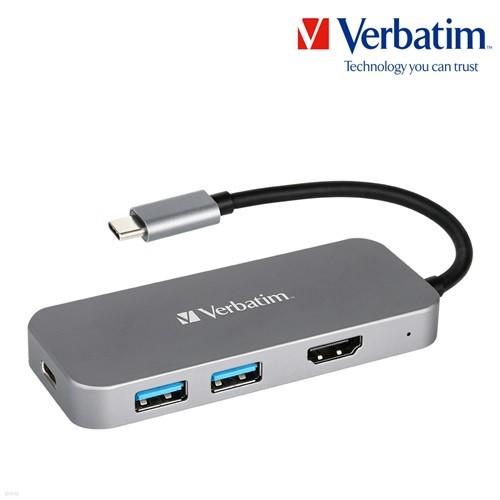 버바팀 USB-C PD충전 100W HDMI USB3.0/허브/C타입