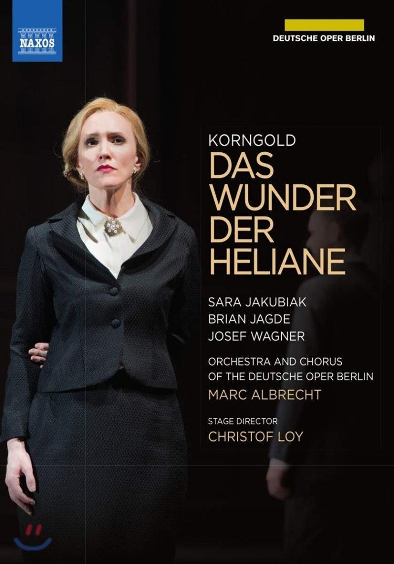 Marc Albrecht 에리히 코른골트: 오페라 '헬리아네의 기적' (Erich Korngold: Das Wunder der Heliane)