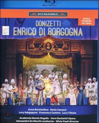 Alessandro De Marchi 도니제티: 오페라 '보르고냐의 엔리코' (Donizetti: Enrico di Borgogna)