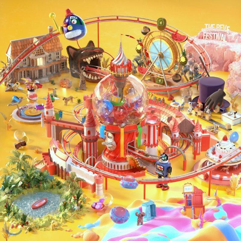 레드벨벳 (Red Velvet) - 미니앨범 : The ReVe Festival Day 1 [Day 1 ver.][커버 5종 중 1종 랜덤발송]