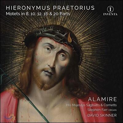 David Skinner 히에로니무스 프레토리우스: 8, 10, 12, 16, 20성부 모테트 (Hieronymus Praetorius: Motets in 8, 10, 12, 16 & 20 Parts)
