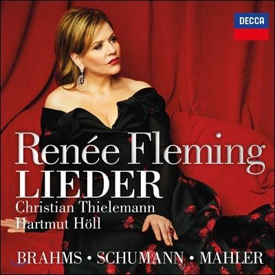 Renee Fleming 브람스 / 슈만 / 말러: 독일 가곡 모음집 (Brahms / Schumann / Mahler: Lieder)