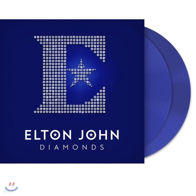 Elton John (엘튼 존) - Diamonds: The Ultimate Greatest Hits [블루 컬러 2LP]